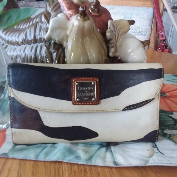 Dooney & Bourke Zebra Leather Wallet